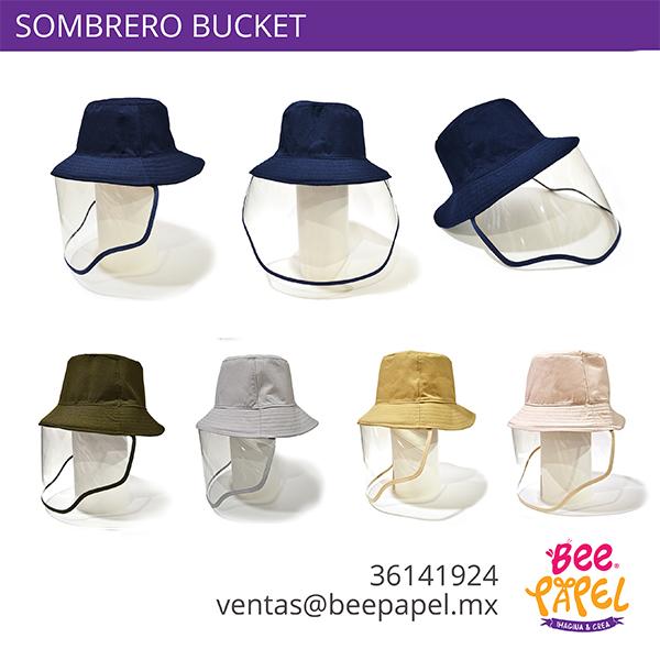 Caretas sombrero bucket